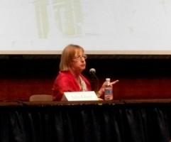 Julia Glass in the Capitol Auditorium