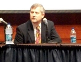 Karl Marlantes in the Capitol Auditorium