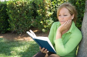 Mature Woman Reading