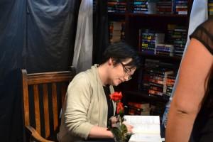Erin signing